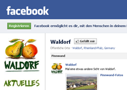 Waldorf goes Facebook